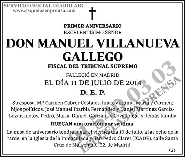 Manuel Villanueva Gallego